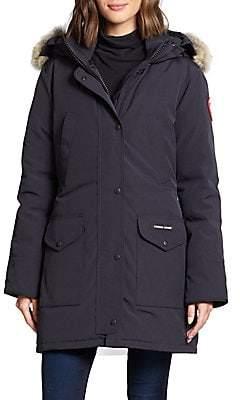 Canada Goose Women's Trillium Fur-Trimmed Down Parka