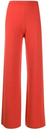 Joseph knitted flared trousers
