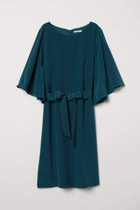 H&M Silk Dress - Turquoise