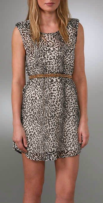 B-low The Belt Lindsay Stackable Leopard Belt