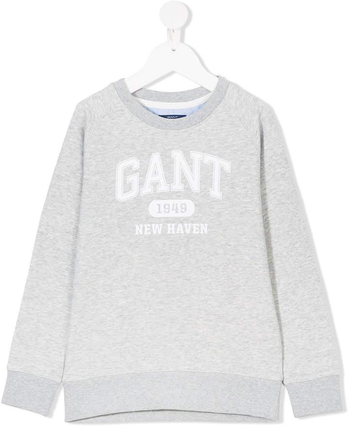 Gant Kids printed logo sweatshirt