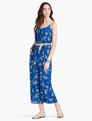 Lucky Brand VIBRANT BLUE MAXI DRESS