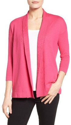 Women's Chaus Cotton Open Front Cardigan $79 thestylecure.com
