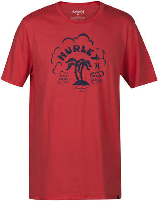 Hurley Men's Twin Palms Graphic T-Shirt