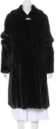Gianfranco Ferre Long Mink Coat