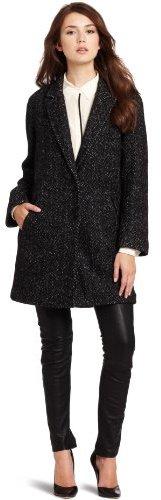 Rebecca Taylor Women's Herringbone Coat