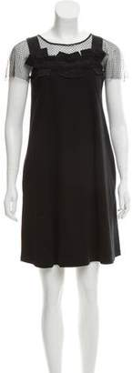 RED Valentino Sleeveless Shift Dress