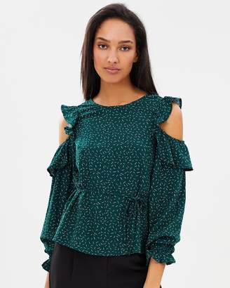Atmos & Here ICONIC EXCLUSIVE - Cassie Cold Shoulder Top
