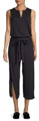 Inhabit Split Cotton Jumpsuit