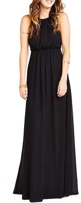 Women's Show Me Your Mumu Amanda Open Back Blouson Gown $184 thestylecure.com
