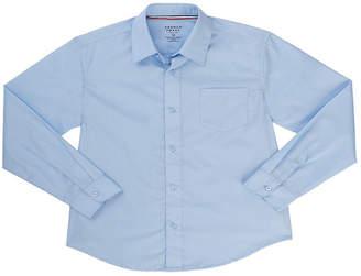 French Toast Long Sleeve Classic Uniform Dress Shirt- Toddler Boy 2T-4T