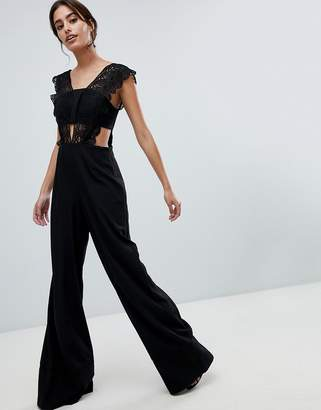 c7297ea7bee5 Asos Black Women s Wide Leg Pants on Sale - ShopStyle