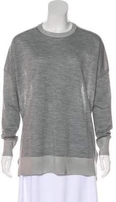 Derek Lam Wool-Blend Long Sleeve Top