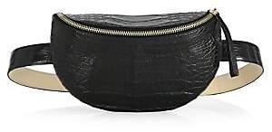 Nancy Gonzalez Women's Lola Crocodile Belt Bag