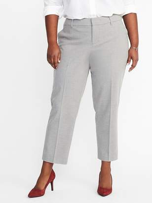 Old Navy Mid-Rise Secret-Slim Pockets Plus-Size Harper Pants