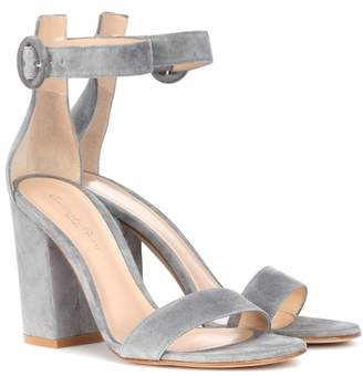 Gianvito Rossi Exclusive to mytheresa.com – Versilia suede sandals