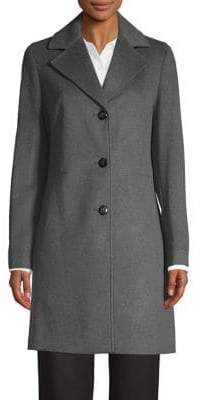 Calvin Klein Notch Lapel Walker Jacket
