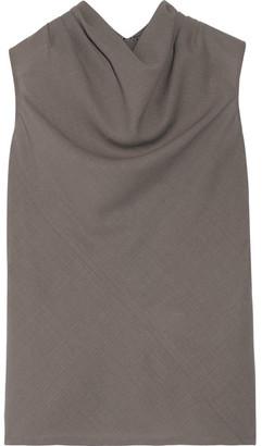 Rick Owens - Bonnie Wool Top - Mushroom $700 thestylecure.com