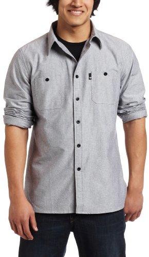 C1rca Young Men's Cheyenne Long Sleeve Woven Shirt