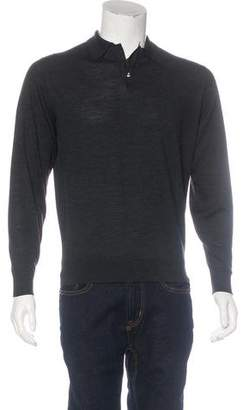 Ralph Lauren Purple Label Merino Wool Polo Shirt