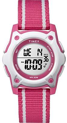 Timex Kids TW7C26200 Time Machines Digital 35mm Double-Layered Nylon Strap Watch