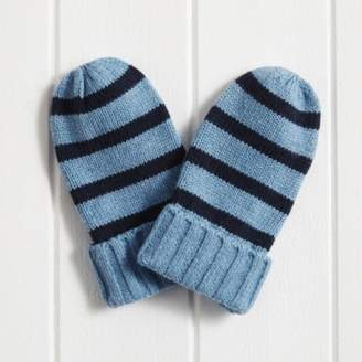 The White Company Boys Stripe Mittens