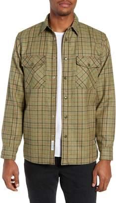 Rag & Bone Jack Plaid Wool Overshirt