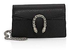 Gucci Women's Dionysus Leather Mini Chain Shoulder Bag