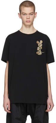 Marcelo Burlon County of Milan Black Disney Edition Mickey Mouse Camouflage T-Shirt