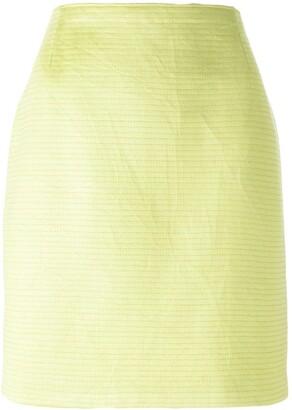 Gianfranco Ferre Pre-Owned straight skirt