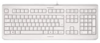 K&C Cherry Kc 1068 Wired Usb Keyboard - Pale Grey