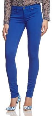 Freesoul Women's Jackie-mill Denim-victoria Blue Trousers