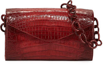 Nancy Gonzalez Amour Small Ombre Crocodile Crossbody Bag