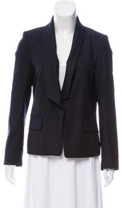 MAISON KITSUNÉ Wool One-Button Blazer