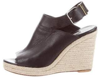 Balenciaga Espadrille Wedge Sandals