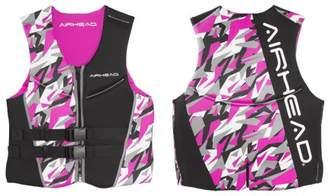 Airhead CAMO COOL Women's Kwik-Dry Neolite Vest, Pink