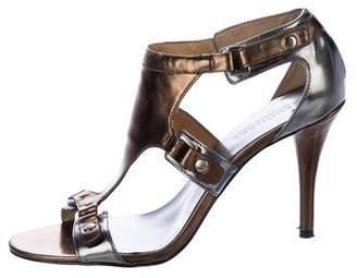 MICHAEL Michael Kors Metallic Leather Sandals