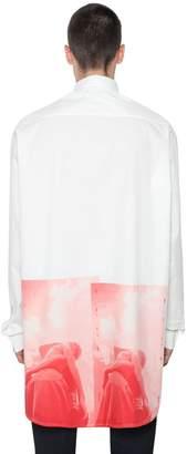 Jil Sander Sigillo Ff Printed Cotton Shirt