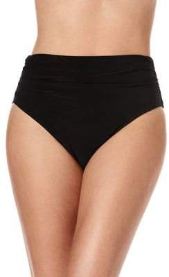 Miraclesuit Magic Suit by Tricot Shirred Bikini Bottom