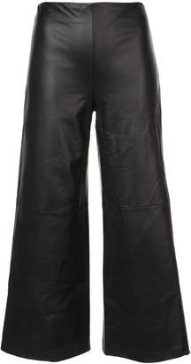 ADAM by Adam Lippes cropped wide-leg trousers