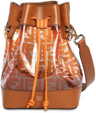 Fendi Mon Trésor Leather & Pvc Bucket Bag