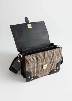 Structured Small Accordion Bag