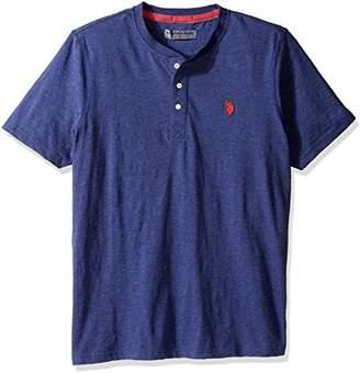 U.S. Polo Assn. Men's Solid Long Sleeve Henley Slim Fit T-Shirt