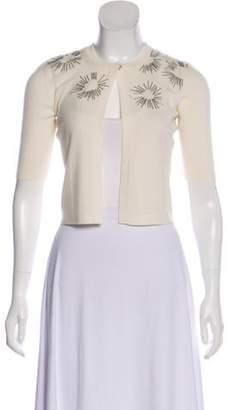 Akris Punto Button-Up Short Sleeve Vest Button-Up Short Sleeve Vest