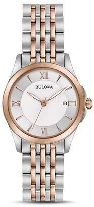 Bulova Modern Two-Tone Watch, 27mm $299 thestylecure.com