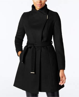 MICHAEL Michael Kors Wool-Blend Belted Walker Coat