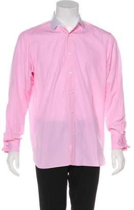 Ralph Lauren Purple Label Woven French Cuff Shirt