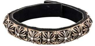 Chrome Hearts Leather Zero Bracelet