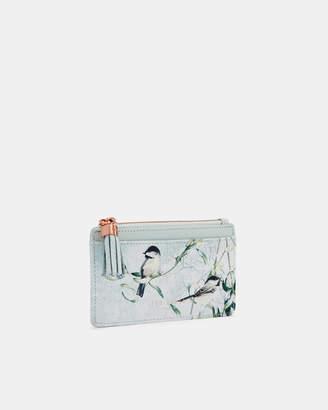 Ted Baker KATICA Mistletoe Kiss leather card holder