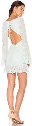 MAJORELLE Esmeralda Dress in Mint $205 thestylecure.com